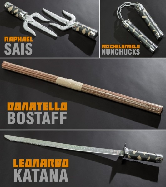 Diy Teenage Mutant Ninja Turtles Weapons