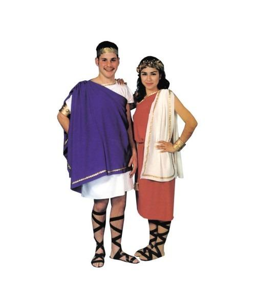 Greek Toga Man Adult Costume For