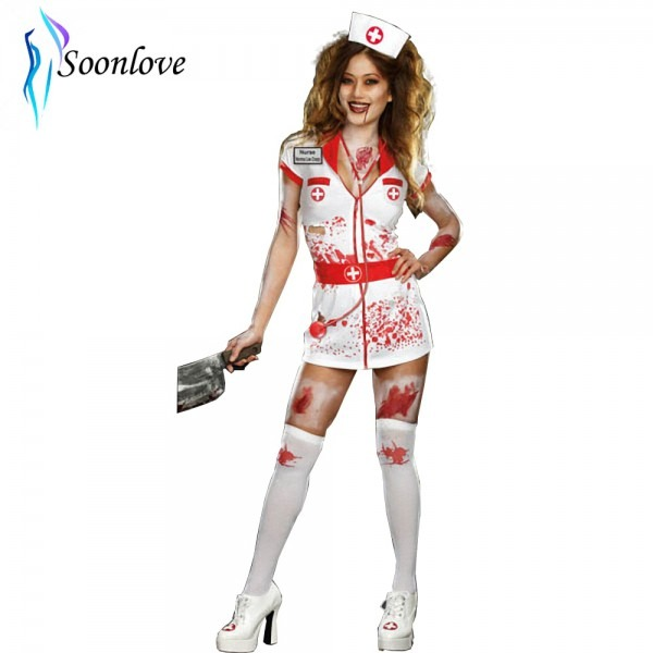 Top Halloween New Japanese Women Sexy Hospital Doctor Costume