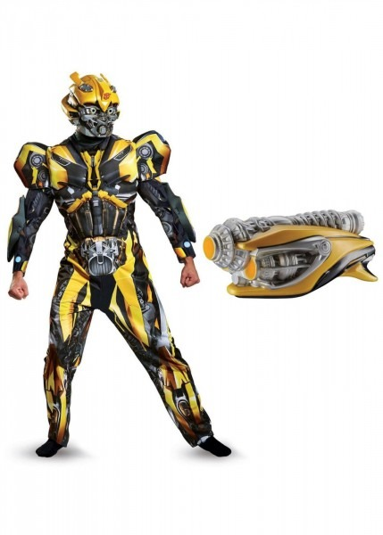 Transformers Bumblebee Mens Costume Kit