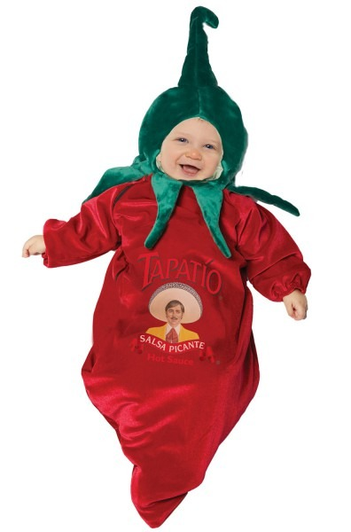 Tapatio Chili Pepper Bunting Infant Costume