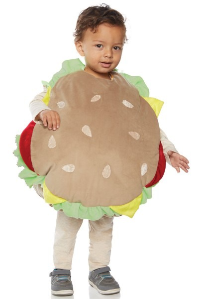 Hamburger Belly Baby Toddler Costume