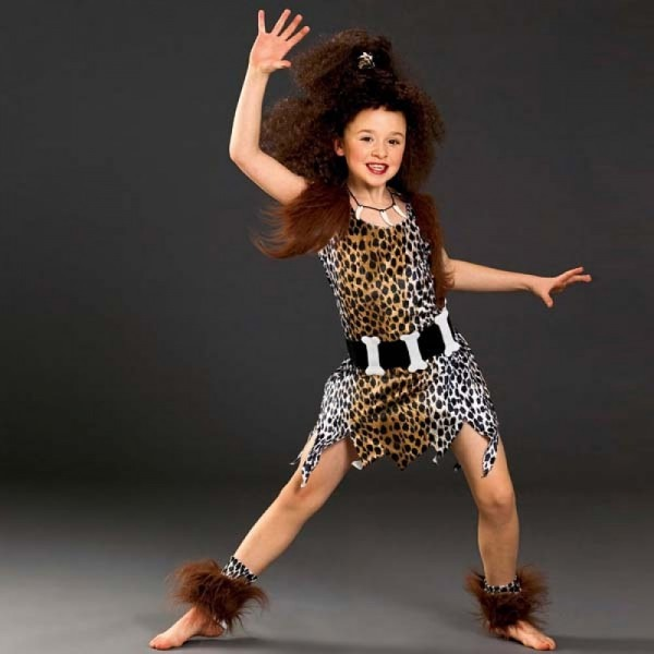 Child Cave Girl Costume & Cave Girl Costume Chica Monkey Boutique