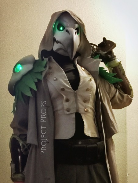 My 3d Printed Halloween Costume (plague Doctor Reaper, From