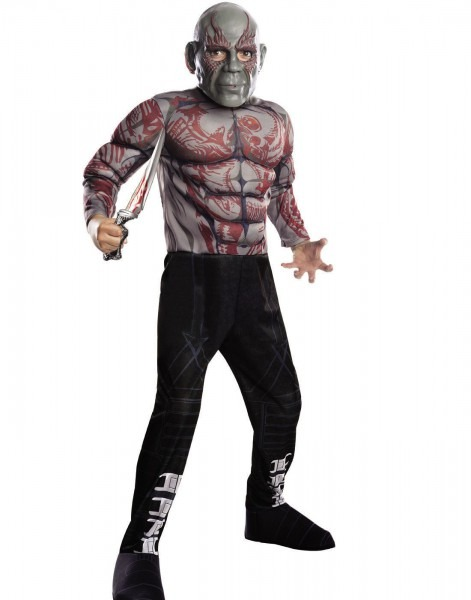 Guardians Of The Galaxy Gotg Muscle Drax Destroyer Costume Large