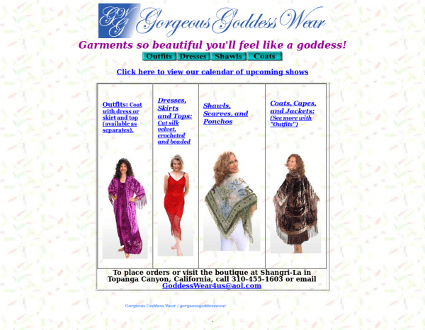 Gorgeous Goddess Wear Competitors, Revenue And Employees