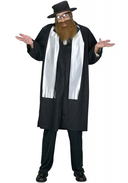 Rabbi Costume, Jewish Fancy Dress, Priest, Kohen