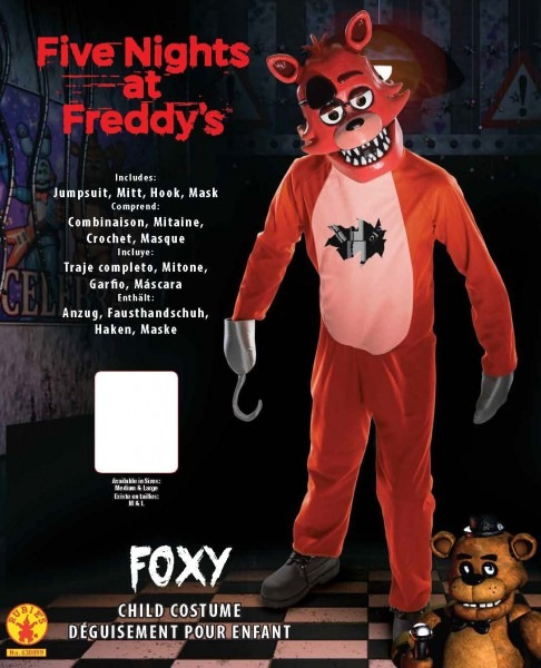Seven Times Six  Rubie's Five Nights At Freddy's Child's Foxy