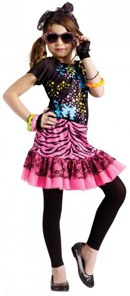 Girls 80's Pop Star Diva Costume   Costumes Life