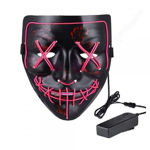 2019 Mask Led Light Up Purge Mask For Festival Cosplay Costume
