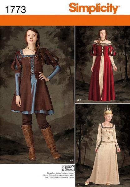 Simplicity 1773 Misses' Costume