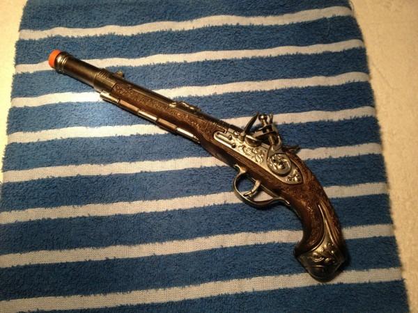 Jack Sparrow Pirate Gun Pistol Gonher No  90 Made In Spain