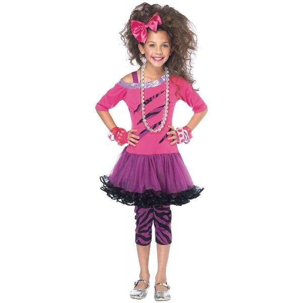 Rockstar Rock Star Pop Diva Costume Halloween Fancy Dress