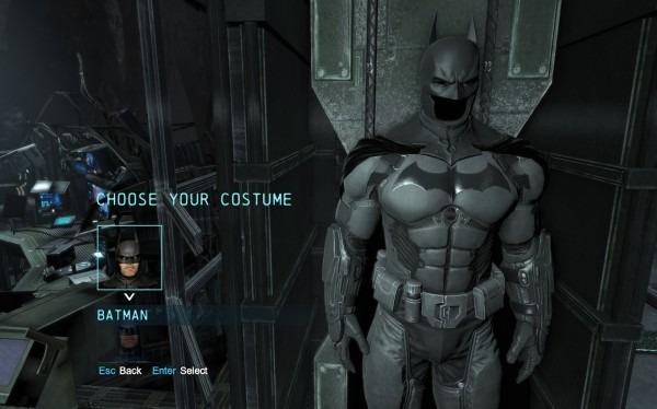 Original Arkham Origins Suit No Damage