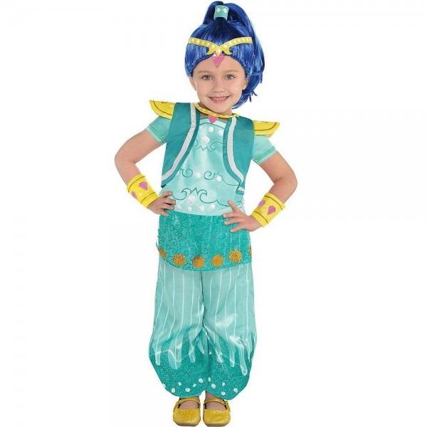 Shimmer And Shine Shine Deluxe Halloween Costume Nick Jr  Girls