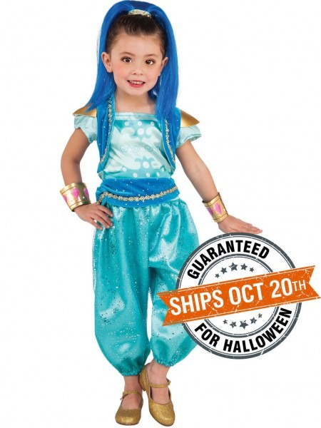 Toddler Shimmer And Shine Deluxe Shine Costume In 2019
