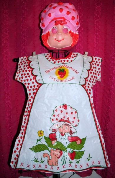 Vintage Strawberry Shortcake Halloween Costume Rare