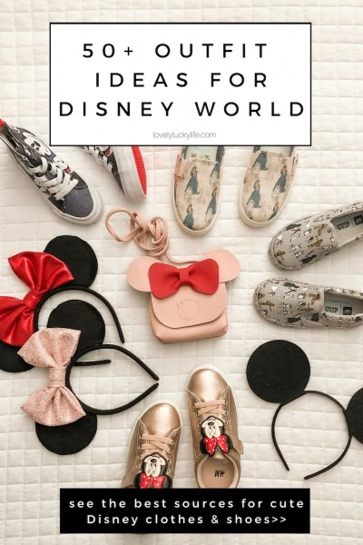 Outfits For Disney World  100+ Of The Cutest Disney Clothes For