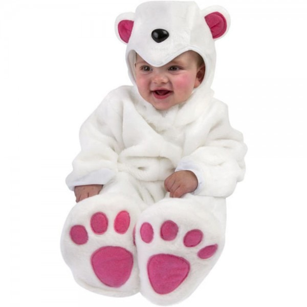 Amazon Com  Unique Baby Infant Polar Bear Costume (6