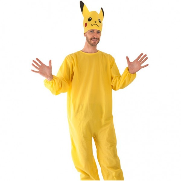 Amazon Com  Wilton Adult Pokemon Pikachu Costume Standard Size