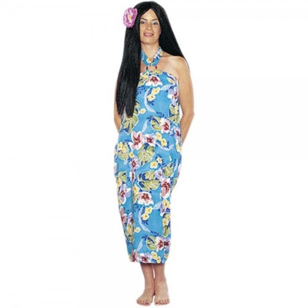 Amazon Com  Women's Hawaiian Luau Dress Halloween Costume (size