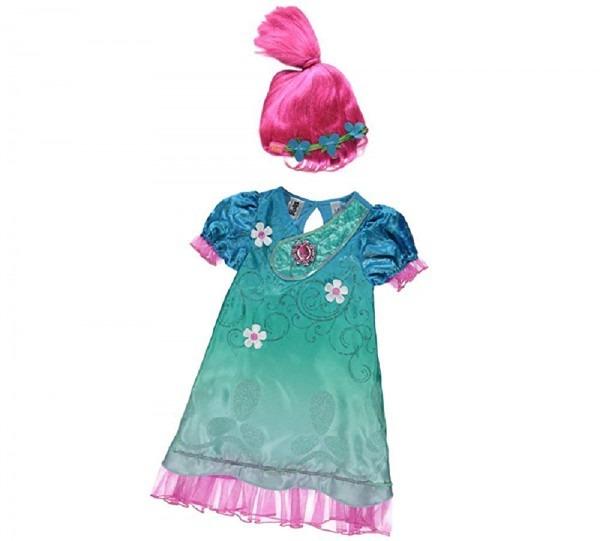 Amazon Com  New George Dreamworks Trolls Poppy Fancy Dress Costume