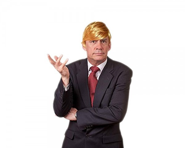 Amazon Com  Funny Donald Trump Wig For Halloween – Special