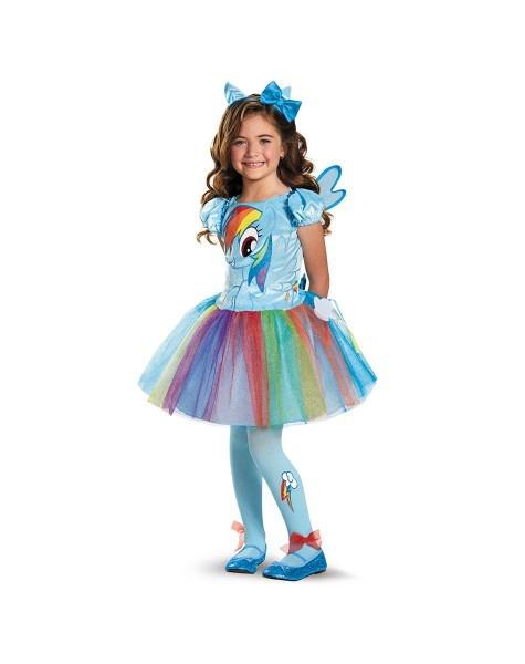 Rainbow Dash Tutu Child Costume