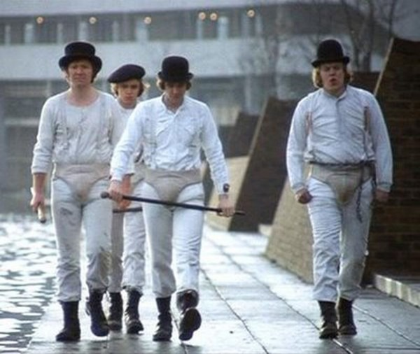 The Droogs, From A Clockwork Orange  The Clothing Looks Way Too