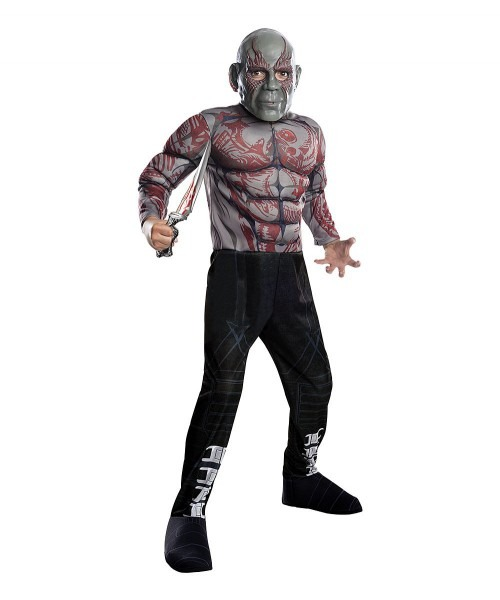Guardians Of The Galaxy Drax The Destroyer Deluxe Dress