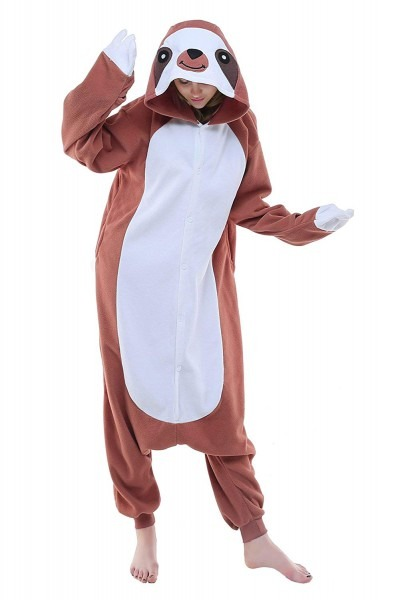Amazon Com  Newcosplay Unisex Adult Sloth Pajamas