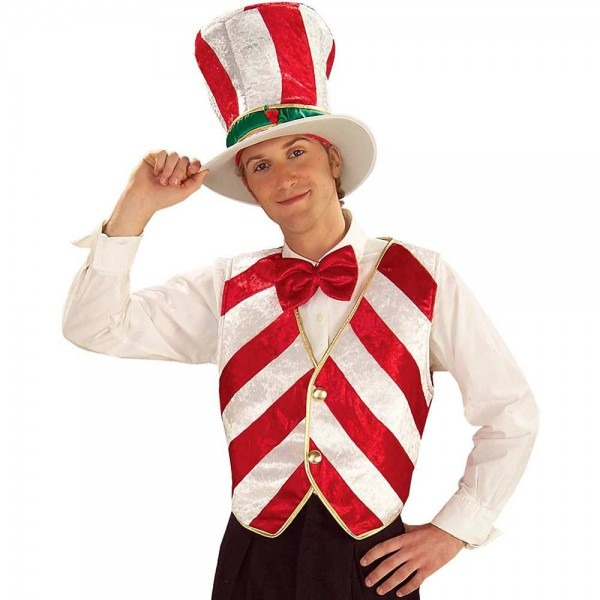 Amazon Com  Adult Size Mr Peppermint Costume