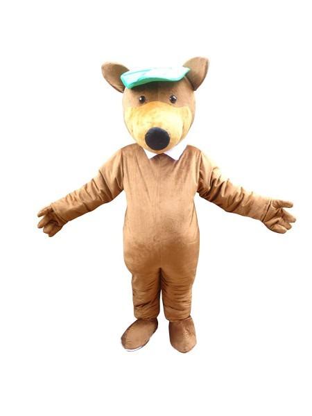 Amazon Com  Yogi Bear Adult Halloween Easter Mascot Costume