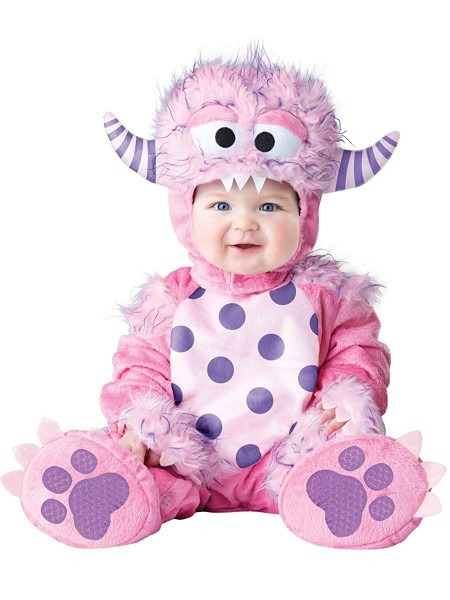 Amazon Com  Incharacter Baby Girls' Lil' Monster Costume By Fun