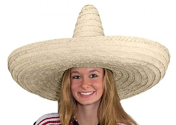Amazon Com  Giant Jumbo Sombrero Hat Zapata Straw Spanish Mexican