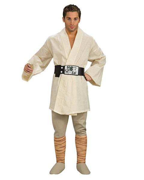 Amazon Com  Deluxe Luke Skywalker Theatre Costumes Star Wars Jedi