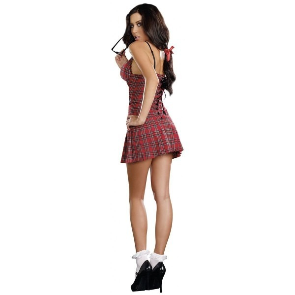 Gsg School Girl Costume Adult Sexy Catholic Schoolgirl Outfit
