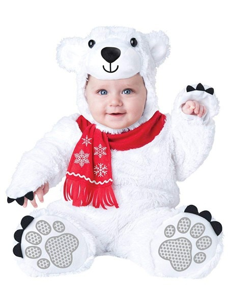 Amazon Com  Incharacter Costumes Baby's Lil' Polar Bear Costume