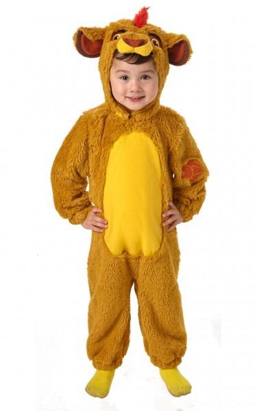 Kids Childs Lion Guard Kion Fancy Dress Costume Outfit Disney King