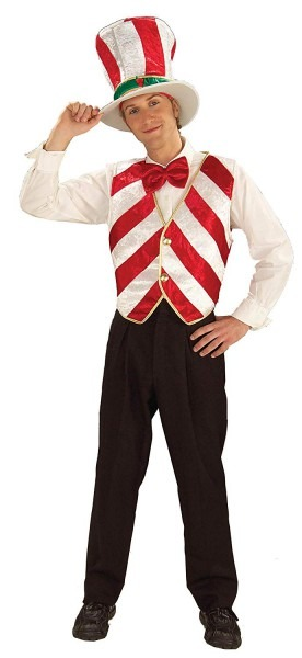 Amazon Com  Mr  Peppermint Costume (women's Adult Regular Size