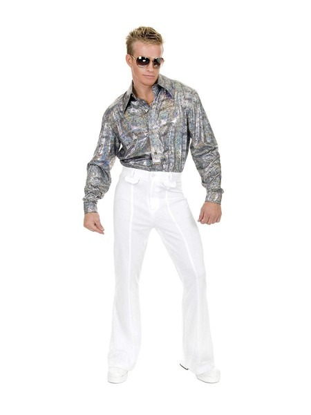 Amazon Com  Disco Pants Adult Costume White