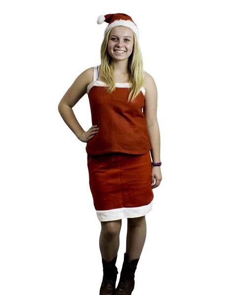 Amazon Com  Mrs Santa Claus Christmas Adult Costume Outfit Set W