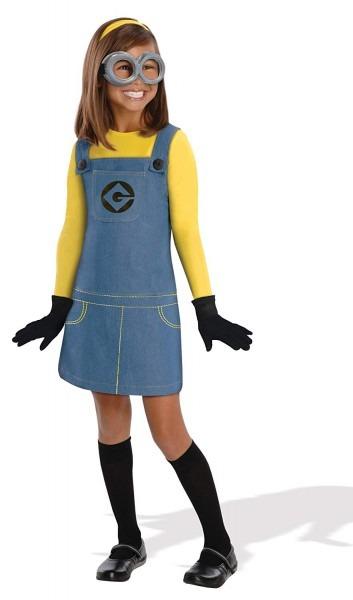 Amazon Com  Despicable Me 2 Deluxe Girls Minion Costume, Medium