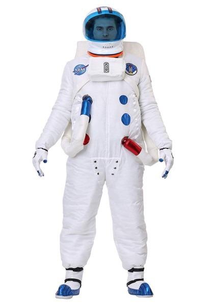 Amazon Com  Authentic Men's Astronaut Costume Medium White  Clothing