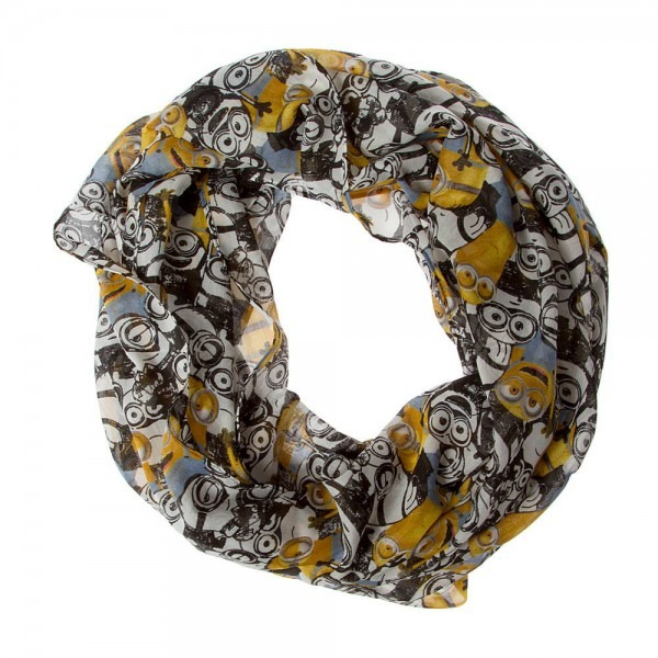 Claire's Accessories Girls Despicable Me Minions Infinity Scarf At