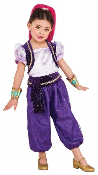 Amazon Com  Rubie's Girl's Shimmer & Shine Theme Outfit Child