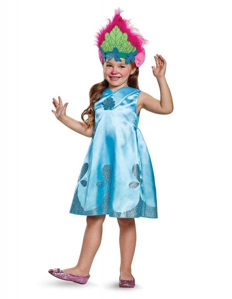 Amazon Com  Dreamworks Trolls Poppy Girls' Deluxe Costume  Clothing