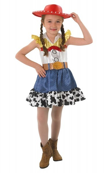Amazon Com  Small Girls Toy Story Jessie Costume  Toys & Games