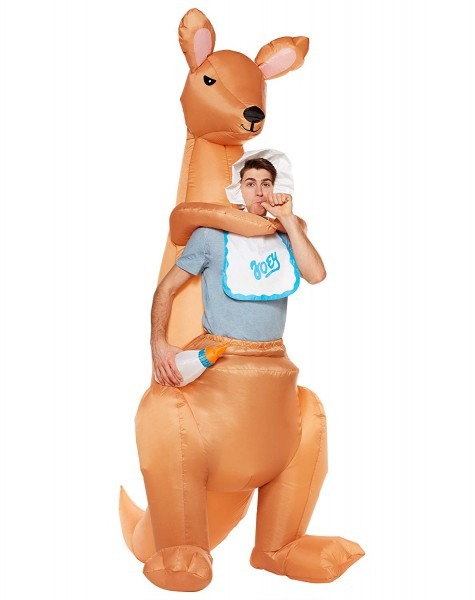Amazon Com  Spirit Halloween Adult Joey Kangaroo Inflatable