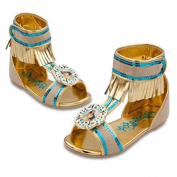 Amazon Com  Disney Store Pocahontas Costume Shoes Sandals Size 7 8